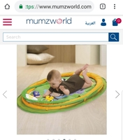 Used Chicco Travel Baby Gym in Dubai, UAE
