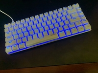 Used Gaming Mechanical Keyboard blue switches in Dubai, UAE