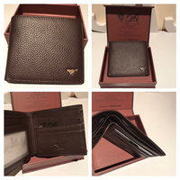 wallet with box brown