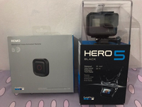 Used Go Pro Hero 5 + Free REMO waterproof in Dubai, UAE