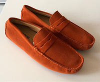 Used Mocassin&Loafers Orange Suede/44 in Dubai, UAE