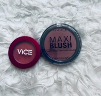 Used Blush (2 pcs) Rimmel & Vice Cosmetics  in Dubai, UAE