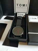 Used Leather Watch TOMI ¤  New with Box in Dubai, UAE