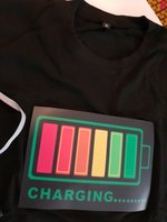 Used LED lights voice activate tshirt in Dubai, UAE