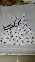 Used White Cherry Dress for Baby Girls in Dubai, UAE