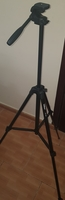 Used Camera tripod stand with storing bag in Dubai, UAE