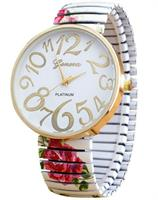 White Bracelet Watch For Women