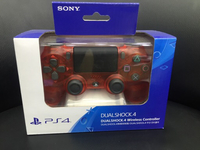 Playstation 4 crystal red