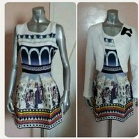 Used Brand new dress with White jacket. in Dubai, UAE