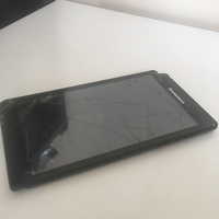 Used Lenovo Tablet *broken in Dubai, UAE