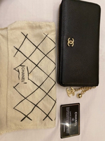 Used Chanel wallet black  in Dubai, UAE