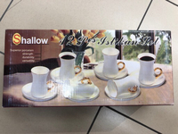 12 pieces tea set - non negotiable