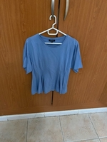 Used TopShop, blue top in Dubai, UAE