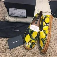 Used Dolce & Gabbana Tropical Espadrilles. Brand New With Complete Inclusions. 💯 Authentic.  in Dubai, UAE