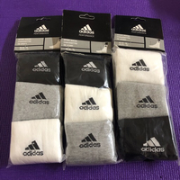 Used 3 Sets of Adidas Male Socks/ 43-46 in Dubai, UAE