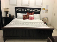 Used King bed and mattress and dresser in Dubai, UAE