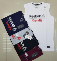 Used Reebok sleeveless 5 pcs Large in Dubai, UAE