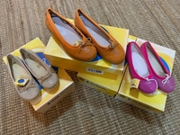Used Kids genuine leather pumps please contac in Dubai, UAE
