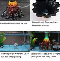 Used aquarium volcano O mament large in Dubai, UAE