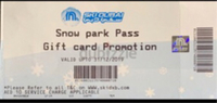 Used Ski Dubai passes  in Dubai, UAE