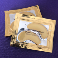 Used CRYSTAL COLLAGEN GOLD POWDER EYE MASK  in Dubai, UAE