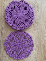 Used Crochet coasters (set of 5)  in Dubai, UAE