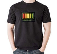 Used Unisex LED lights T-Shirt XL in Dubai, UAE
