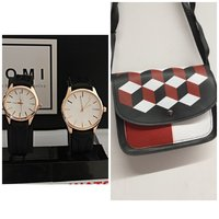 Used Super Offer》Tomi Couple Watches + BAG in Dubai, UAE