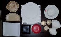 21 pcs assorted Tableware