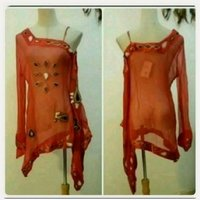 Used Fashionable red top for women.. in Dubai, UAE