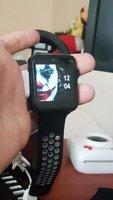 Used sim watch metalic   add001🔊. in Dubai, UAE