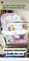 Used Feeding chair in Dubai, UAE