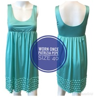 Used Patricia Pepe Dress in Aqua in Dubai, UAE