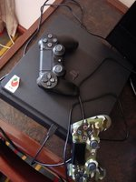 Used Sony PS4 with 1 controller/ 6games in Dubai, UAE