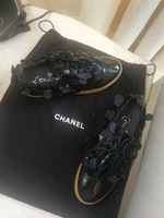 AUTHENTIC VINTAGE CHANEL SNEAKERS.SIZE37