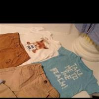 Zara Babyboy T-Shirt And Pants
