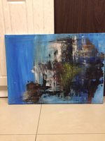 Used Amazing blue abstract painting in Dubai, UAE