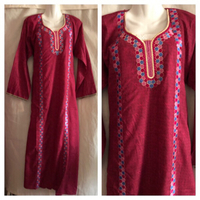 Used Long dress size S new in Dubai, UAE