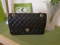 Used Chanel Classic flap caviar gold small in Dubai, UAE
