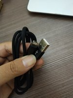 Used USB cable 2 in 1 lighting and micro. in Dubai, UAE