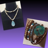 Used Marine Jasper + Ocean Teardrops  in Dubai, UAE