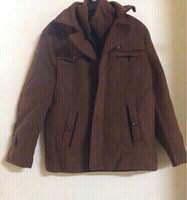 Used Jacket 🧥 size (xl) brown color  in Dubai, UAE