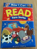 Used Kids large print book farm stories in Dubai, UAE