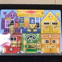 Melissa&Doug Latches Board.