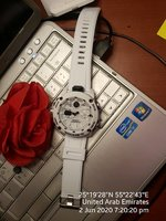 Used GSHOCK WHITE STYLISH Dual Time Casio +🎁 in Dubai, UAE