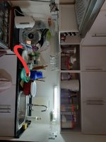 Used Full kitchen cabinets with big sink in Dubai, UAE
