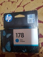 Used Ink cartridge for HP 178 Yellow and Cyan in Dubai, UAE