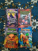 Used 7x Goosebumps series books ORIGINAL in Dubai, UAE