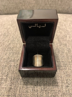 Used Real 925 stamped silver ring  in Dubai, UAE