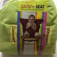 Used Portable safety seat Green/2 pieces  in Dubai, UAE